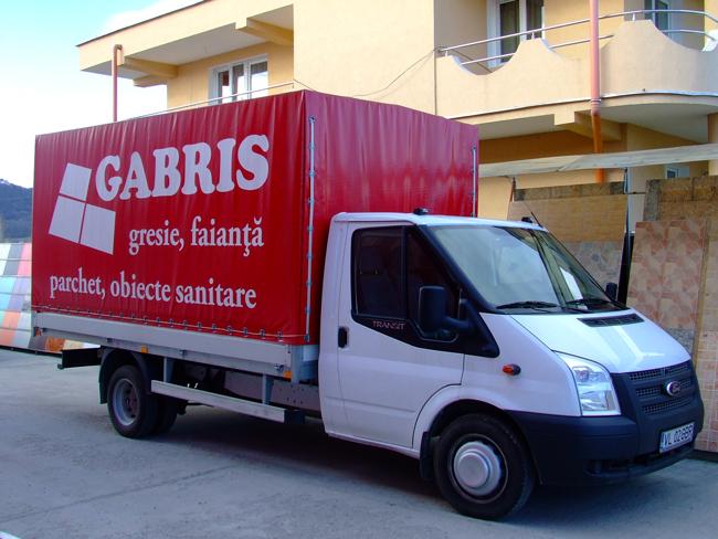 Camion transport Gabris
